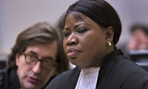 Fatou Bensouda said she had received reports of 'extreme brutality' in the Central African Republic. Photograph: Michael Kooren/AFP/Getty Images