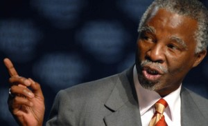 Former South African president Thabo Mbeki will chair a panel