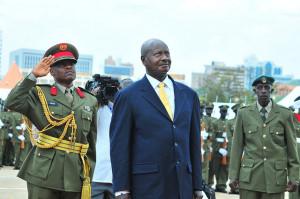 Ugandan President         YOWERI