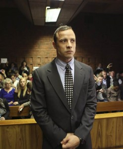 Photo: Reuters Oscar Pistorius enters the dock at the Pretoria Magistrates court on June 4, 2013.