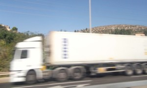 A type of truck used by traffickers