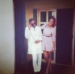 Kay Switch and Liberian girlfriend