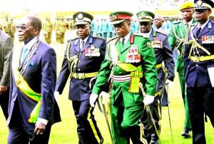 Zimbabwe's President Mr. Mugabe