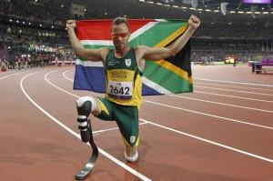 South Africa's Star Oscar Pistorius