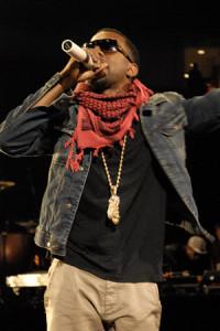 American Music Star Kanye West