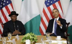 President Goodluck  and President Obama