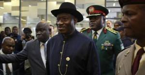 Nigerian President Goodluck