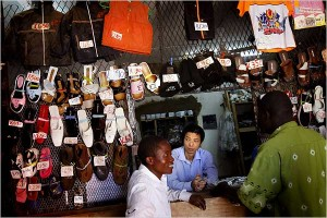 Chinese in Markets in  Africa