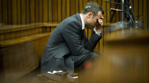 Oscar Pistorius Cried and Retched in Court (AFP)