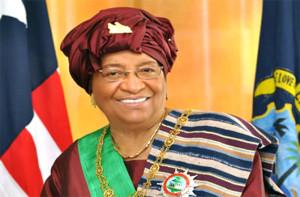 President Ellen Johnson of Liberia