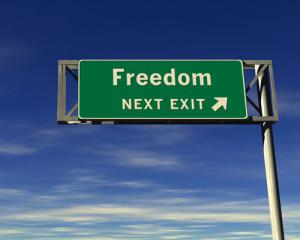 Freedom exit