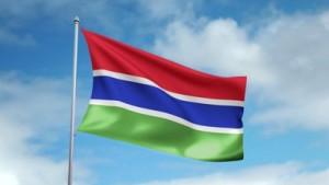 Gambian flag 01