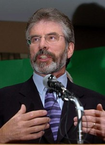 Sinn Fein Chief Gerry Adams