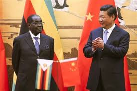 China's President  Xi President Mugabe