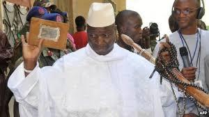 Gambia's President  Yaya Jammeh